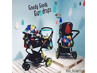 Cosatto Giggle 2 travel system-pitter patter design with hold car seat and isofix