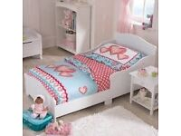 KIDSKRAFT WHITE CHILDS BED SAME AS PICTURE EXPENSIVE NEW BARGAIN AT £30 NO MATTRESS JUST BED