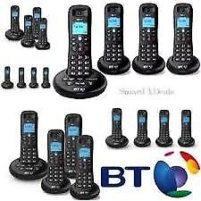 BT 3540 Quad Digital Cordless Phone with Answering Machine