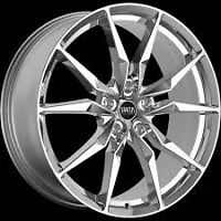"NEW!! 22""CHROME RIMS/w low pro tires-Status Toro,fx35,mkz"