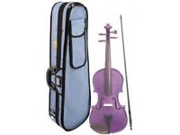 Stentor Violin 1/2 Purple