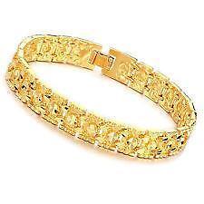 18k Men S Gold Bracelet