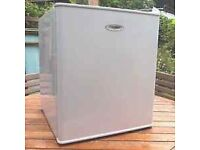 Table Top Fridge With Small Freezer Box Inside In Good Clean Working Condition