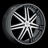 "BRAND NEW!!! 20"" STATUS GAME RIMS WITH LOW PRO TIRES."