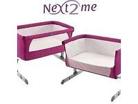 CHICCO bedside crib Next2me