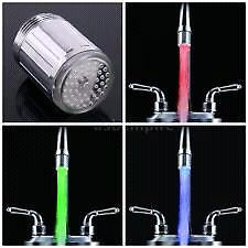 Neon color change tap head