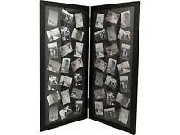 Floor standing multi photo frame