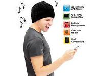 hat beenie headphones bluetooth all phones