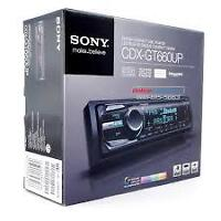 SONY,  USB, AUX,  CD MP3 ,IPOD, IPHONE ...,Garante un ans