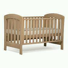 Boori Country Classic Cot Bed in Almond finish