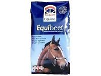 HORSE FEED SUGAR BEET NO MOLASSES 20KG BAG £6.50 DELIVERY AVAILABLE