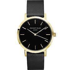 GBBLG-G36 The Gramercy Black/Gold Watch