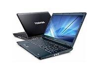 12 Months Warranty Intel i3 Professionally Refurbished Toshiba 15.6 Inch Laptop 6GB Ram MS Office