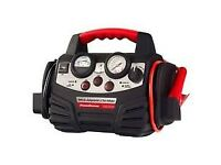 New Boxed Powerstation PSX1004CE Heavy Duty Portable Car Truck Jump Starter Tyre Inflator