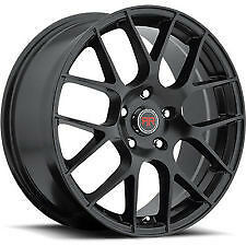 "18"" Satin black rims 5X100 5X114.3 5X120 ONLY $790 #R6"