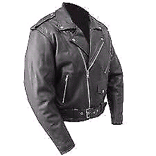 RJAYS Leather Cruiser Jacket Motorcycle Motorbike