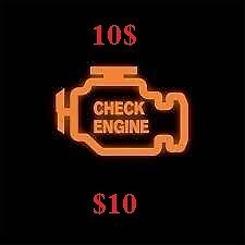 Check Engine Error code Scan for 10$