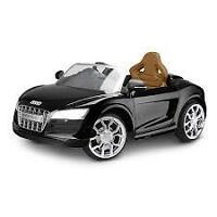 NEW IN BOX AUDI R8 SPYDER ELECTRIC RIDE ON CAR