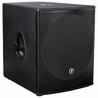 SUBWOOFER AMPLIFIEE MACKI SRM1801