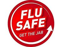 Free NHS Flu Vaccination Service Now Available. No Appointment Necessary