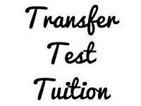 Transfer Test Tuition available