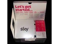Sky Wireless ADSL Broadband Router Hub Model SR101