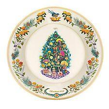 lenox christmas tree plate