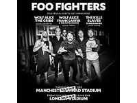 Foo Fighters at London Stadium - Standing Ticket - Sat 23rd June - £100