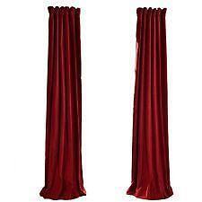 Velvet Curtains Ebay