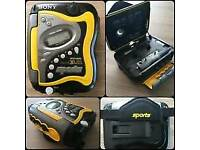 Sony Sports Walkman WMFS420 Radio Fm..Am Cassette