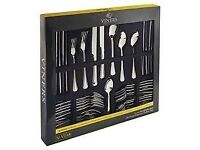 Bargain NEW Clearance Reduced Viners 18/10 Stainless Steel 44 Piece Cutlery Set Smoke Pet Free Home