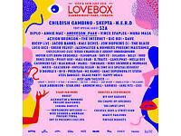 Lovebox Friday Festival Tickets