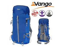 Vango Boulder 45 ltr Rucksack Backpack Brand New with tags.