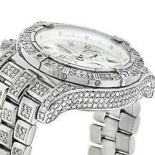Breitling Watches For Sale >> Mens Breitling Diamond Watch Ebay