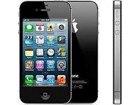 IPHONE 4S - 16GB - UNLOCKED - BLACK - £79
