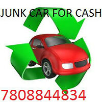 cash for damaged car scrap car pay up $ 5000 FREE TOW 7808844834