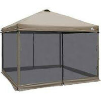 Looking for old or ripped screen tents or gazebos.