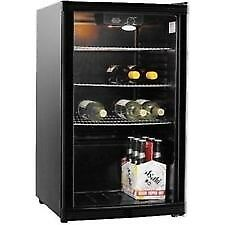 Glass fronted bar style fridge. Can deliver.