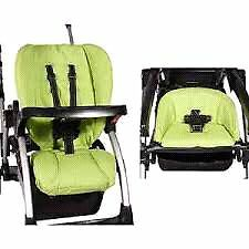 Joovy Ergo Caboose Seat Cover Apple Green