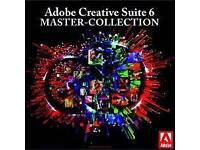 Adobe Master Collection CS6 Windows and Mac supported