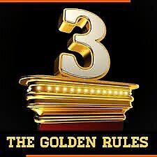 3 GOLDEN RULES TO OPEN BIG DOORS FOR YOU IN LIFE !!!