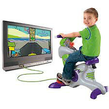 Fisher Price Smart Cycle Racer & Learning Games TV System London Ontario image 4