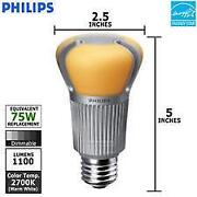 75 Watt LED Light Bulb
