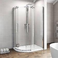 Victoria Plumb Quadrant Shower Screen