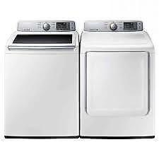Electric Washer Dryer Pair on Sale WA45H7000AW/A2 DV45H7000EW/AC (SAM108)