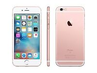 Apple iphone 6s rose gold 64gb good condition