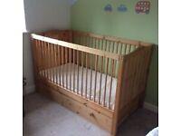 Pine nursery furniture set