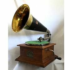 Victor Talking Machine or Edison Phonograph