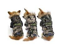 BNWT puppy camouflage jacket
