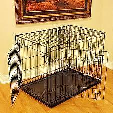 Majestic Pet Double Door Dog Crate.
